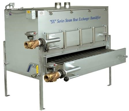 Delta T Equipment | Pure Humidifier | Featured Product | SX Series Steam Heat Exchanger Humidifier