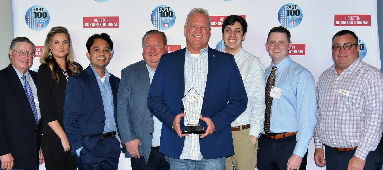 Delta T Equipment team presented with 2021 HBJ Fast 100 award